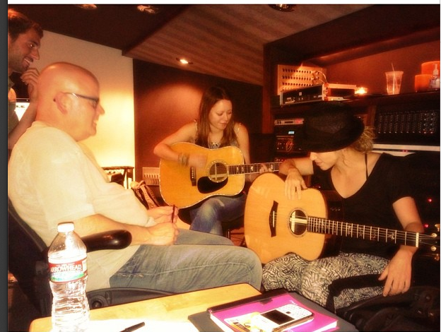 What an amazing day with amazing songs! I'm never working with anyone again who isn't from Nashville!! Shak